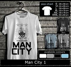 Kaos Manchester City FootBall Club | Kaos Guvnors dan Citizens 2