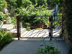 Garden design ideas beautiful garden fence metal