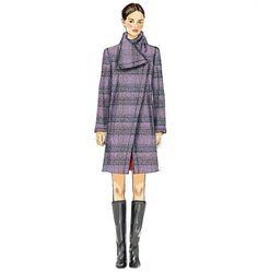 Patron de manteau - Vogue 8933