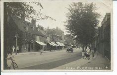 Real photo postcard of the high street Witney Oxfordshire vgc ,packer photo | eBay