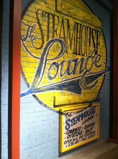 THE STEAMHOUSE LOUNGE ~ BEST seafood in the ATL!!! or maybe the southeast......Their lobster bisque is literally world famous & can be shipped anywhere by the QUART,  their lobster rolls have a full 1/4 POUND of lobster meat, a large, poppy seed roll with drawn butter & that is it!!!  Actually, I don't think I've ever had a dish that I didn't LOVE & vow to have again....and again....and again... BECAUSE, luckily, I used to work 2 streets over from their original spot in Buckhead :o/ mmmmm