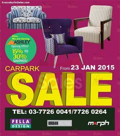 23 Jan-23 Feb 2015: Fella Design Car Park Sale