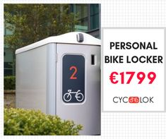 If your bike is your main mode of transport and space is at a premium here is a simple solution to guaranteeing it's safety and security. Bike Locker, Parking Solutions, Terraced House, Bike Parking, Your Location, Mode Of Transport, Peace Of Mind, Lockers, Transportation