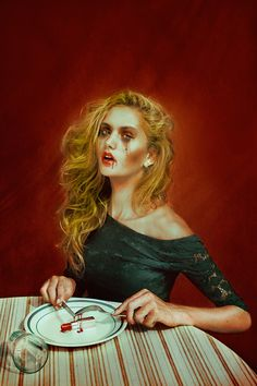 "Surrealism. Marwane Pallas ""What I eat"""