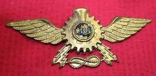 WW2 ITALIAN FASCIST TROPICAL MOTOR TRANSPORT INSIGNIA AFRICA  WWII