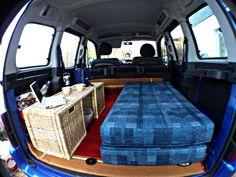 Citroen Berlingo als Mini-Camper