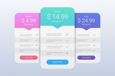 Creative illustration of pricing table with four options isolated Creative Invitation Design, Price Tag Design, Table Template, Website Price, Pricing Table, Creative Illustration, Price List, Vector Photo, Business Planning