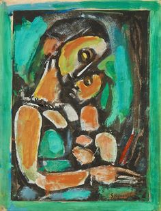 Georges Rouault (French, 1871-1958) - It Would Be So Sweet Love, 1950
