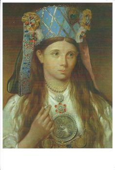 'Estonian Bride' - Gustav Adolf Hippius Art Museum of Estonia Tallinn, Estonia