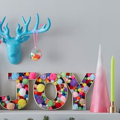 How to Make Joy Fillable Letters Arts And Crafts Storage, Arts And Crafts For Teens, Art And Craft Videos, Easy Arts And Crafts, Easy Diy Crafts, Xmas Crafts, Hobbies And Crafts, Handmade Crafts, Crafts For Kids