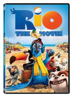 Rio The Movie on DVD for only $2.99