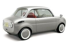 Suzuki retro micro car.