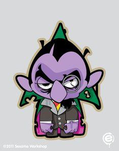 The Count Zombie #SesameStreet