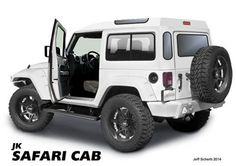 These Homemade 'Safari Cabs' Make Your Jeep Wrangler So Much Sexier