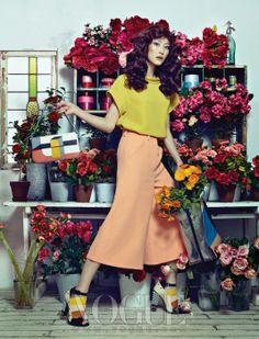 Flower House, Vogue Korea March 2013