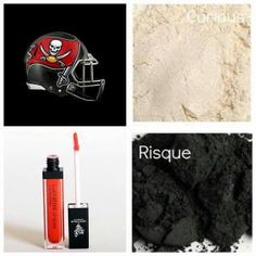Tampa Bay Buccaneers with Younique Makeup lashesalwaysluscious.com