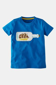 Mini Boden 'Pirate' T-Shirt (Toddler, Little Boys & Big Boys)