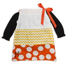 Girls Candy Corn Tie Dress – Lolly Wolly Doodle