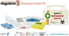 The Regulator Biohazard Spill Kit module contains all the products essential for cleaning up bodily fluids in a hygienic and efficient way. Products are assembled in a lightweight, plastic case to ensure access and transportation is practical and hassle-free. Contents meet Australian Standard AS2675-1983 #firstaidkits #australia #newzealand
