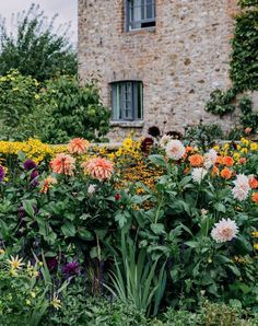 In the beautiful garden of his Devon farmhouse, landscape designer Alasdair Cameron has put his principles into practice, combining his love of plants with the needs of his young family. Back Gardens, Small Gardens, Hornbeam Hedge, Easiest Flowers To Grow, Landscape Design, Garden Design, Growing Dahlias, Herbaceous Border, Cottage