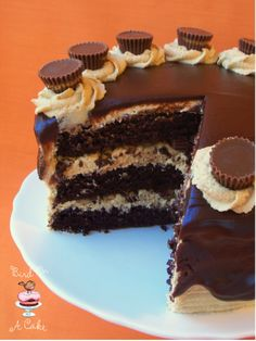 Bird On A Cake: Reese's Peanut Butter Chocolate Cake @boyenger