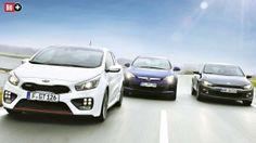 KOMPAKT-COUPÉS Kia schlägt VW mit eigenen Waffen Kia Pro Ceed GT, VW Scirocco und Opel Astra GTC im Vergleich