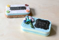 Decorate old Altoids tins and turn them into gift card holders!