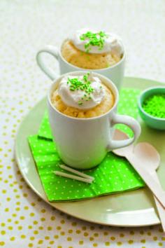 Receta de Mug cake  @cocinaland http://www.cocinaland.com/mug-cake-aprende-como-hacer-un-cupcake-en-2-minutos/