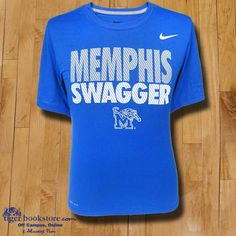 Show your Memphis swagger with this new Dri-Fit® tee from Nike®. #tigers