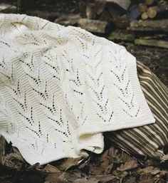 Knitted babyblanket