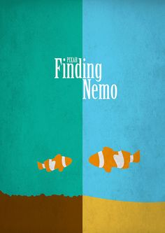 Minimalist Finding Nemo  - One of my favorites!!!