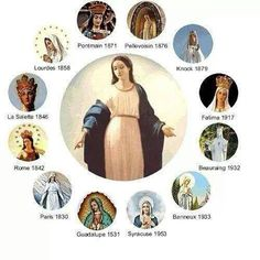 Approved Marian Apparitions