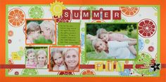 LOVE this Cheerful Summer Additions Kit by Creative Memories!