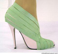 Wraps and heels III Bernadette Deddens Shoe accessories designed for  Mattijs van Bergen s Central Saint Martin s c5984d43c6d6