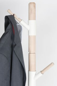 Storable Coat Rack is a minimalist design created by Netherlands-based designer Bran Vanderbeke. The coat rack can be completely disassemble...