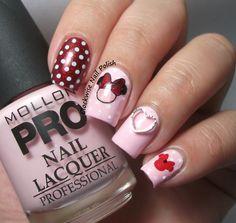 The Clockwise Nail Polish: Mollon Pro 180 Amor & Mini Nail Art