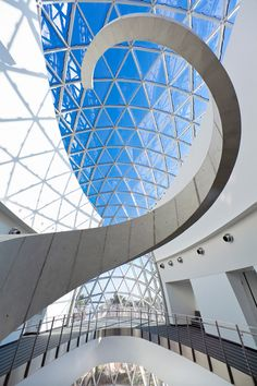 """Named one of AOL Travel's """"Buildings You Have to See Before You Die,"""" this new museum houses the world's most comprehensive collection of Salvador Dalí's art o…"""