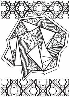Adult Coloring (Doodles) on Behance Abstract Coloring Pages, Pattern Coloring Pages, Adult Coloring Book Pages, Mandala Coloring Pages, Colouring Pages, Coloring Books, Doodle Books, Doodle Art, Preschool Sight Words