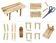 Arte para Crianças: Como fazer uma tabela picolé. / Art Projects for Kids: How to Make a Popsicle Table.