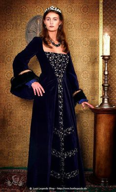 The Tudors dress Catherine of Aragon