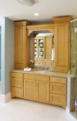 Custom Bathroom Vanities Ri upper cabinets for bathrooms | bathroom vanity with upper cabinets