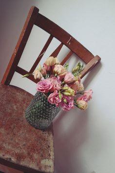 Wunderschöne Blumen vom Wochenmarkt - www.lilagluecklich.de