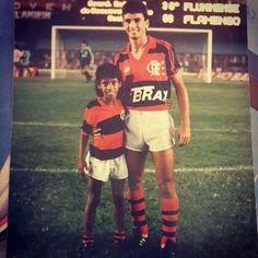 Leonardo Moura e Bebeto