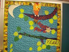Owl+Classroom+Decorations | ... primary grade kids book making: Back to school -classroom decorations