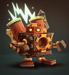 Robot Cartoon Character #robot #character
