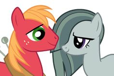 big macintosh x marble pie kids My Little Pony Games, My Little Pony Characters, Marble Pie, Big Macintosh, Rock Family, Mlp Comics, Character Base, I Ship It, Jeff The Killer