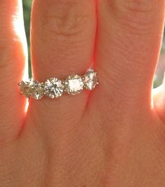Not kidding, I have this ring and it is actually insured.