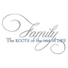 Roots of the Tree of Life Wall Quotes™ Decal