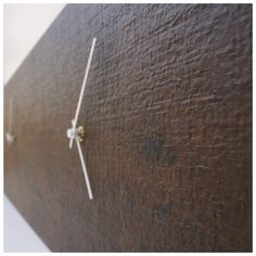 Not just a clock, but a piece of #indoor #design by #Mistif. Double #wallclock made of #ceramics.