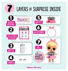 Video review for L.O.L Little Outrageous Littles Surprise! Doll (Colors/Styles Vary)